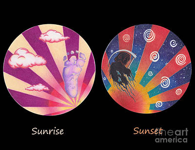 Sunrise/sunset Poster