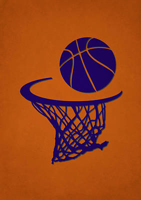 Suns Team Hoop2 Poster by Joe Hamilton
