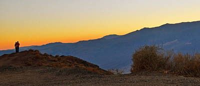 Poster featuring the photograph Sunset - Death Valley by Dana Sohr