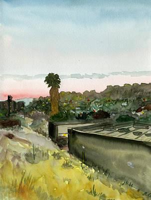 Sunset 25 Lemon Grove Poster