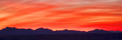 Poster featuring the photograph Sunset Algodones Dunes by Hugh Smith