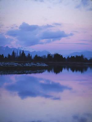 Sunset Art - Nature's Painting Poster by Jordan Blackstone