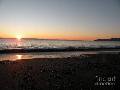Sunset At Gordons Beach Poster