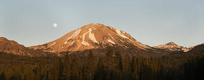 Sunset At Lassen Volcanic Np California Poster by Kevin Schafer
