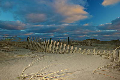 Poster featuring the photograph Sunset At Nauset Beach Cape Cod by Amazing Jules
