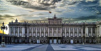 Sunset At Royal Palace Poster