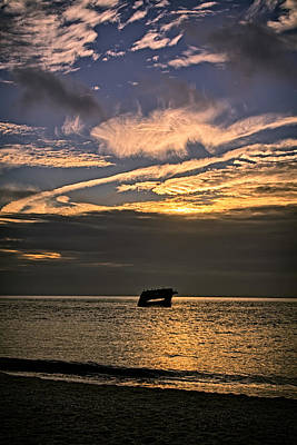 Sunset Beach Cape May Poster