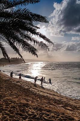Sunset Beach Park Poster