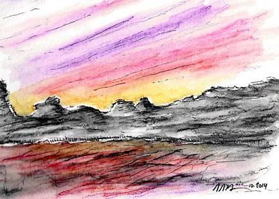 Sunset Canyon Poster by Jason Nicholas