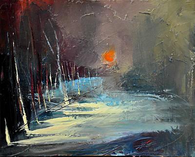 Sunset Poster by David Figielek