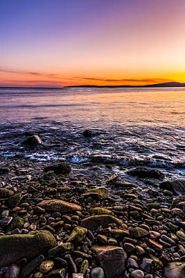 Sunset Photos Elgol Isle Of Skye Poster