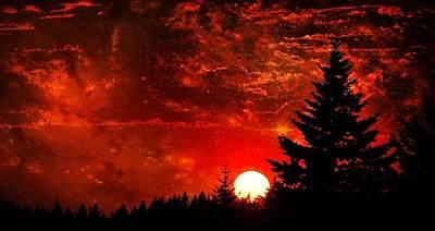 Sunset Fantasy I Poster
