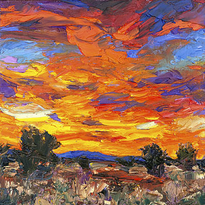 Sunset Fantasy Poster by Steven Boone