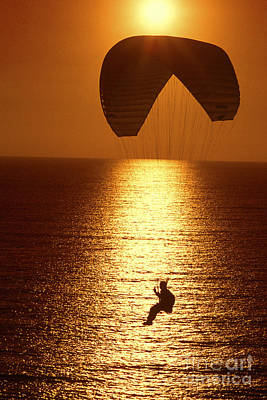 Sunset Flight Poster by Paul W Faust -  Impressions of Light