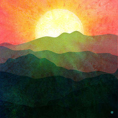 Sunset Hills Poster by Gary Grayson