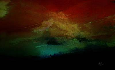 Sunset I Poster by Isabel Salvador