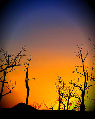 Sunset In Mesa Verde Poster