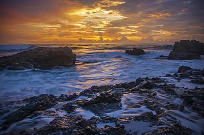 Sunset In Tamarindo Poster