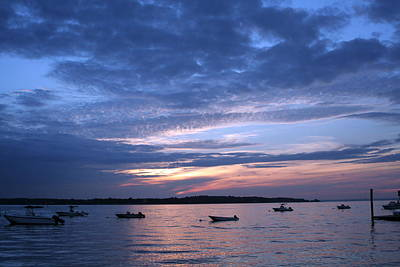Poster featuring the photograph Sunset by Karen Silvestri