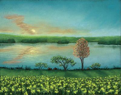 Sunset Lake B Poster