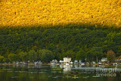 Sunset On Canandaigua Lake Poster