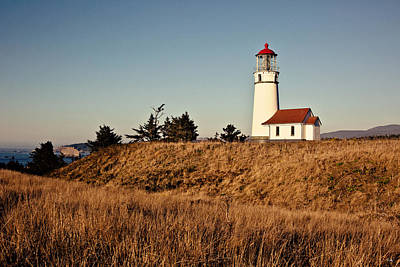 Sunset On Cape Blanco Poster