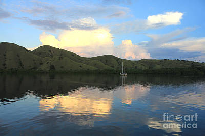 Poster featuring the photograph Sunset On Komodo by Sergey Lukashin