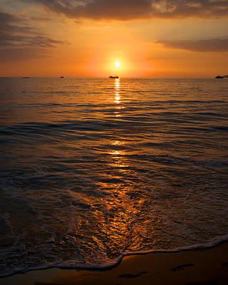 Sunset On Ma'alaea Bay Poster