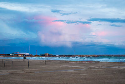 Sunset On Mediterranean Sea Spain Poster