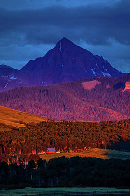 Sunset On San Juan Mountains, Colorado Poster