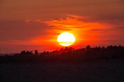 Sunset Over Dead Neck Poster