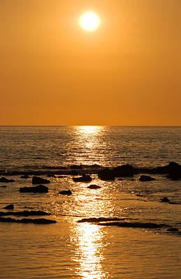 Sunset Over Kona Poster