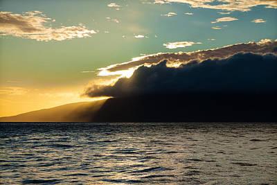 Sunset Over Lanai   Poster