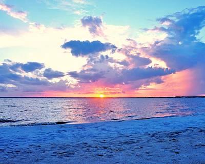 Sunset Over Rehoboth Bay Poster