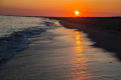 Sunset Over Vineyard Sound Poster