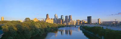 Sunset, Philadelphia, Pennsylvania Poster