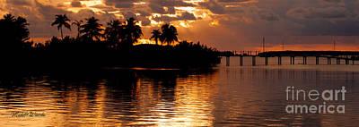 Sunset Serenade Poster by Michelle Wiarda