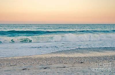 Sunset Tides Poster