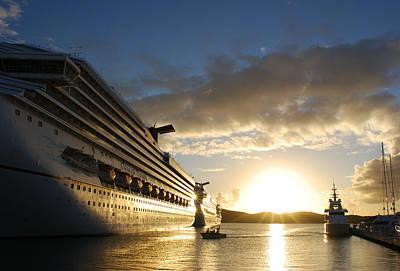 Sunset Voyage Poster