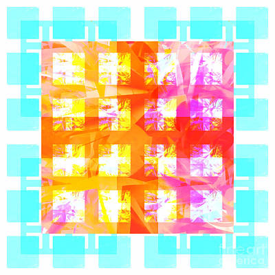 Sunshine Abstract 2 Poster