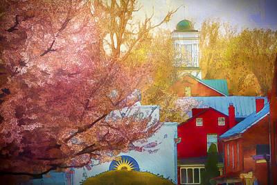 Sunshine In Springtime Poster