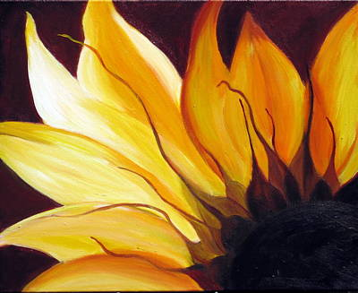 Poster featuring the painting Sunshine by Sheri  Chakamian