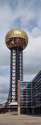 Sunsphere In Worlds Fair Park Poster by Panoramic Images