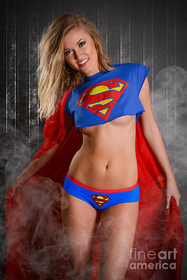 Super Girl Poster by Jt PhotoDesign