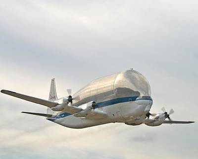Super Guppy Poster by Jeff Cook
