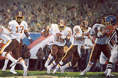Superbowl Xii Poster by Donna Tucker