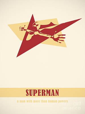 Superman Poster by Igor Kislev