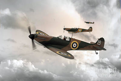 Supermarine Spitfire Mk I Poster by J Biggadike