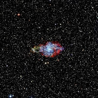 Supernova Remnant Poster by Nasa/cxc/sao