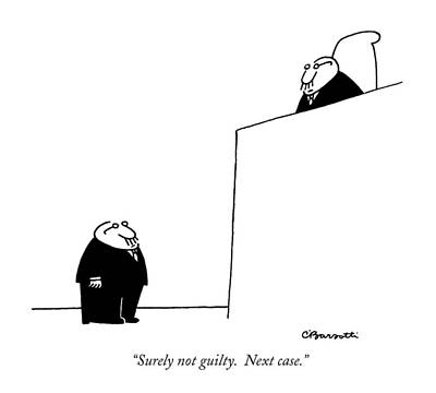Surely Not Guilty.  Next Case Poster